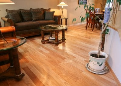 Amendoim Flooring - photo courtesy of Unique Wood Floors